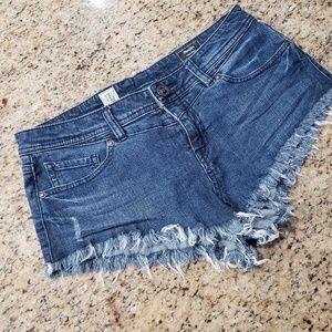 Volcom Micro Short Jean Chonies Size 9